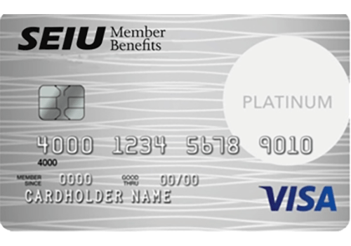 SEIU Platinum Edition Visa Card