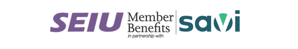 SEIU Member Benefits in partnership with Savi